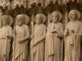 Saints in a row
