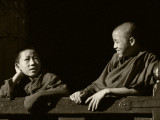 Two monks chatting