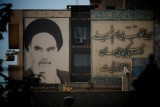 It's difficult to get away from the old Ayatollah Khomeini in Iran - his and his successor's images are everywhere!