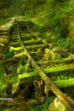 The Ancient Railway on Mt. Taping