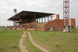 The abandoned stadium
