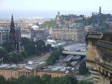 View from Edinburgh Castle (Edinburgh, Scotland)