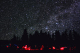 Star Party under the Milky Way.