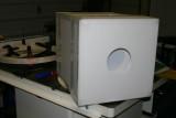 Flat frame light box