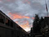 Sunrise at the Amtrak Station