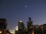 Moon over Petco Park