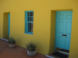 Colorful adobe home in Tucson