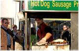 Hot Dog Sausage Pretzel