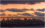 Sunset on Manhattan December 3rd