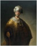 Rembrandt's Man in Oriental Costume