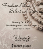 Mount Pisgah Women's Ministry Fashion Show and Silent Auction 10-07-2010