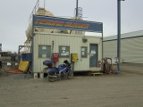 Filling Up at America's Northern-most Gas Station, Tesoro Alaska in Deadhorse at Prudhoe Bay