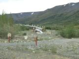 Buried Alaska Pipeline