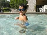 New swimming goggles.