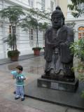 Outside Singapore's Asian Civilisations Museum.