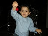 Maraschino cherry!