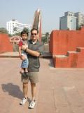 With Tim Smart at Jantar Mantar