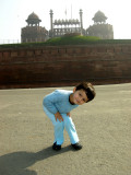 Outside of Red Fort