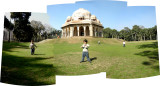 Panoramic view of Rahil in Lodi Garden