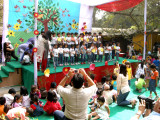 Rahil at The Learning Tree Play School Annual Day 2009