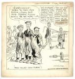 Original cartoon (March 25, 1927)