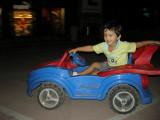 More car-riding at Ansal Plaza