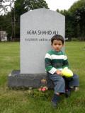 A visit to a friend's grave