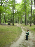 Strolling around in Look Park (Florence, Massachusetts)