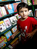 There were no books that Rahil didn't want.