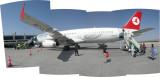 Flight from Cappadocia to Istanbul (15 June 2010)