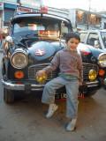 Chillin' in Leh Bazaar.