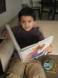 Rahil enjoying Clean Cartoonists, Dirty Drawing