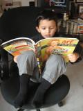 Rahil reading Arf Forum