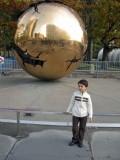Outside the UN.