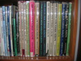 Here's what the annual volumes look like on the shelf
