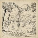 Original cartoon (published August 28, 1928) (14 x 14)