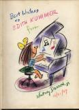 Whitney Darrow, Jr. (1949, 9 x 11, pastel)