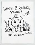 Birthday Card for Rahil (2006)