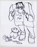 Gahan Wilson (2006, 9 x 12)