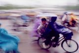 Cyclists in Hanoi (1999)