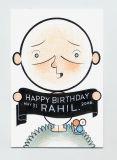 Birthday Card for Rahil