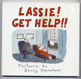 Lassie! Get Help!! (1990) (inscribed with original drawing)