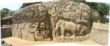 Arjuna,s Pennance, Mammallapuram (26 January 2008)