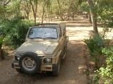 Fast asleep after a safari inside Ranthambore Park