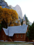 Chapel, oak, and the Sentinel