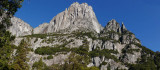Yosemite point panorama from Cook's Meadow
