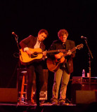 Jedd Hughes and Rodney Crowell