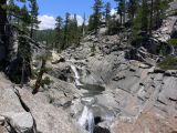 Yosemite Creek, just before the falls