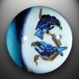 Artist: Ken 'Spider' Schneidereit  Size: 1.24  Type: Lampworked Soft Glass