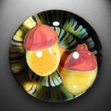 Artist: Devin Somerville  Size: 1.57  Type: Lampworked Boro